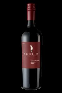 Scheid Vineyards 2017 Cabernet Sauvignon Bottle Shot -transp