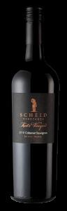 Scheid Vineyards 2018 Kurt's Cabernet Sauvignon Bottle Shot -transp