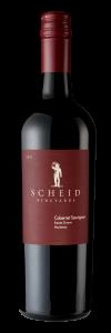 Scheid Vineyards 2019 Cabernet Sauvignon Bottle Shot -transp