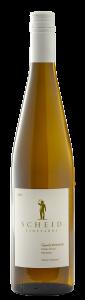 Scheid Vineyards 2020 Gewurztramier Bottle Shot -transp
