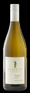 Scheid Vineyards 2020 Pinot Blanc Bottle Shot -transp