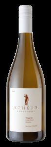 Scheid Vineyards 2020 Viognier Bottle Shot -transp